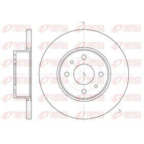 Bremsscheibe Bremsscheibendicke: 14mm, Lochanzahl: 4, Ø: 257mm, Ø: 257mm mit OEM-Nummer 82 434 169