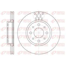Bremsscheibe Bremsscheibendicke: 20mm, Lochanzahl: 4, Ø: 257mm, Ø: 257mm mit OEM-Nummer 51749124