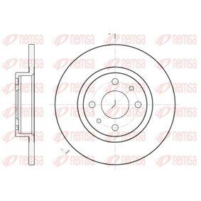 Brake Disc 6191.00 PUNTO (188) 1.2 16V 80 MY 2006