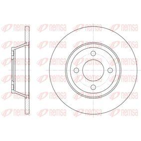 Bremsscheibe Bremsscheibendicke: 13mm, Lochanzahl: 4, Ø: 280mm, Ø: 280mm mit OEM-Nummer 8A0 615 301D