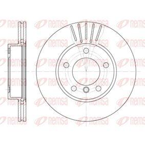 Bremsscheibe Bremsscheibendicke: 22mm, Lochanzahl: 5, Ø: 286mm, Ø: 286mm mit OEM-Nummer 34111162288
