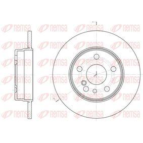 Bremsscheibe Bremsscheibendicke: 12mm, Lochanzahl: 5, Ø: 290mm mit OEM-Nummer 140 423 0612