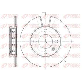 REMSA  6426.10 Bremsscheibe Bremsscheibendicke: 18mm, Lochanzahl: 4, Ø: 239mm