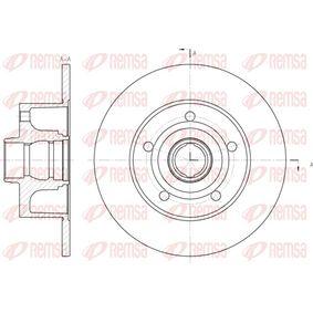 Bremsscheibe Bremsscheibendicke: 10mm, Lochanzahl: 5, Ø: 245mm mit OEM-Nummer 815 615 301B