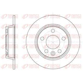 Bremsscheibe Bremsscheibendicke: 10mm, Lochanzahl: 5, Ø: 268mm, Ø: 268mm mit OEM-Nummer 1137985