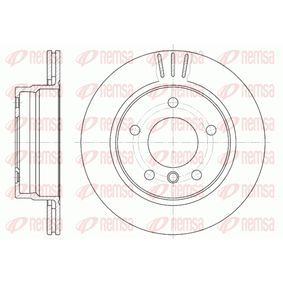 Bremsscheibe Bremsscheibendicke: 19mm, Lochanzahl: 5, Ø: 276mm, Ø: 276mm mit OEM-Nummer 34 211 162 315