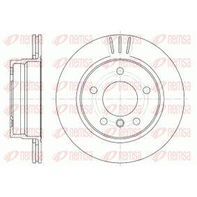 REMSA  6458.10 Bremsscheibe Bremsscheibendicke: 19mm, Lochanzahl: 5, Ø: 276mm
