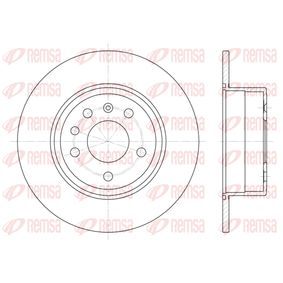 Bremsscheibe Bremsscheibendicke: 10mm, Lochanzahl: 5, Ø: 286mm mit OEM-Nummer 4 839 338