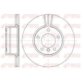 REMSA  6514.10 Bremsscheibe Bremsscheibendicke: 22mm, Lochanzahl: 5, Ø: 296mm