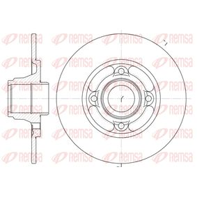 Bremsscheibe Bremsscheibendicke: 8mm, Lochanzahl: 4, Ø: 238mm mit OEM-Nummer 77.01.204.302