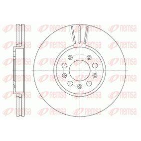 Bremsscheibe Bremsscheibendicke: 25mm, Lochanzahl: 5, Ø: 288mm mit OEM-Nummer 1J0615301S