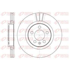 Bremsscheibe Bremsscheibendicke: 22mm, Lochanzahl: 5, Ø: 280mm, Ø: 280mm mit OEM-Nummer 1J0 615 301M