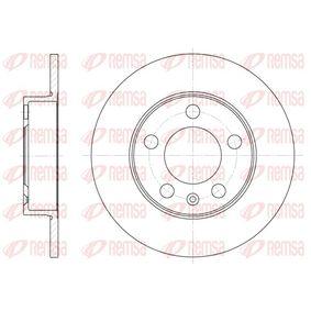 Bremsscheibe Bremsscheibendicke: 9mm, Lochanzahl: 5, Ø: 232mm mit OEM-Nummer 1J0.615.601C