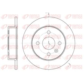 Brake Disc 6570.00 Astra Mk5 (H) (A04) 1.8 MY 2007