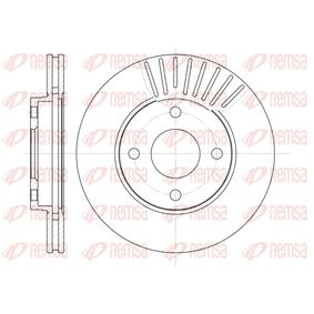 Brake Disc Brake Disc Thickness: 22mm, Num. of holes: 4, Ø: 258mm, Ø: 258mm with OEM Number 98AB-1125-BD
