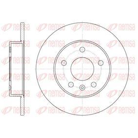 Bremsscheibe Bremsscheibendicke: 10mm, Lochanzahl: 5, Ø: 264mm, Ø: 264mm mit OEM-Nummer 5.69.109