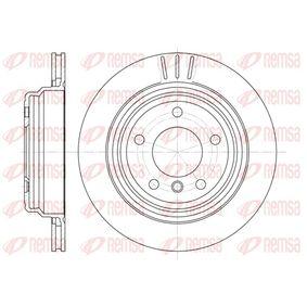 Bremsscheibe Bremsscheibendicke: 20mm, Lochanzahl: 5, Ø: 298mm, Ø: 298mm mit OEM-Nummer 3421 1 163 153