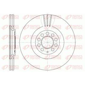 REMSA  6597.10 Bremsscheibe Bremsscheibendicke: 25mm, Lochanzahl: 5, Ø: 312mm