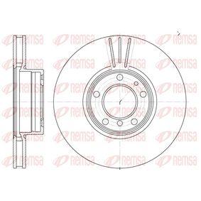 Bremsscheibe Bremsscheibendicke: 24,9mm, Lochanzahl: 5, Ø: 324mm mit OEM-Nummer 3411 1165 859