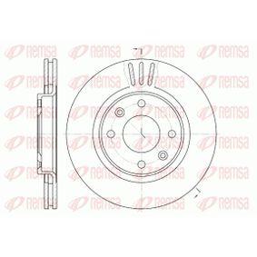 Bremsscheibe Bremsscheibendicke: 22mm, Lochanzahl: 4, Ø: 266mm mit OEM-Nummer 424983