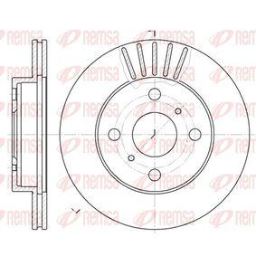 Bremsscheibe Bremsscheibendicke: 17,9mm, Lochanzahl: 4, Ø: 235mm, Ø: 235mm mit OEM-Nummer 4351252050