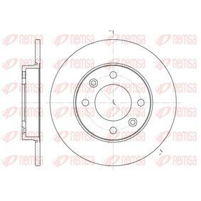 Disco de freno 6630.00 C3 I Hatchback (FC_, FN_) 1.4 16V HDi ac 2013