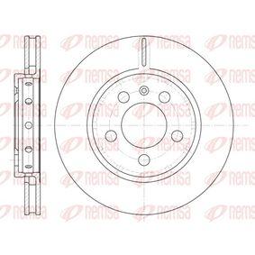 Bremsscheibe Bremsscheibendicke: 21,9mm, Lochanzahl: 5, Ø: 256mm, Ø: 256mm mit OEM-Nummer 8L0.615.601