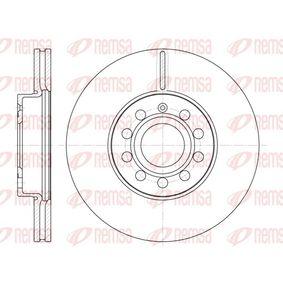 Bremsscheibe Bremsscheibendicke: 24,9mm, Lochanzahl: 9, Ø: 287,8mm, Ø: 287,8mm mit OEM-Nummer 1K0.615.301K