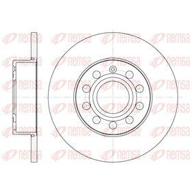 Bremsscheibe Bremsscheibendicke: 11,9mm, Lochanzahl: 9, Ø: 259,8mm, Ø: 259,8mm mit OEM-Nummer 1K0.615.601L