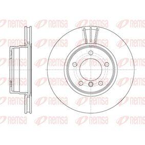 REMSA  6653.10 Bremsscheibe Bremsscheibendicke: 24mm, Lochanzahl: 5, Ø: 309,8mm
