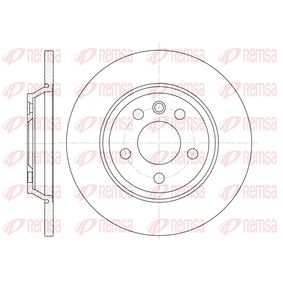 Bremsscheibe Bremsscheibendicke: 13,6mm, Lochanzahl: 5, Ø: 293,6mm mit OEM-Nummer 7D0615601A