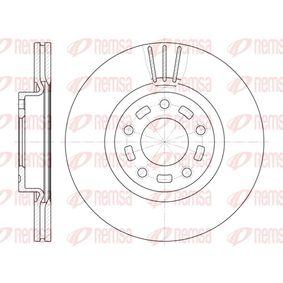 Brake Disc Brake Disc Thickness: 25mm, Num. of holes: 5, Ø: 299,9mm, Ø: 299,9mm with OEM Number C26Y-33-25XB