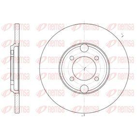 Bremsscheibe Bremsscheibendicke: 13mm, Lochanzahl: 4, Ø: 263,5mm mit OEM-Nummer C46113