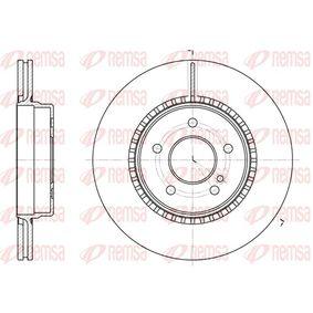 Bremsscheibe Bremsscheibendicke: 22mm, Lochanzahl: 5, Ø: 300,1mm mit OEM-Nummer 210.423.08.12