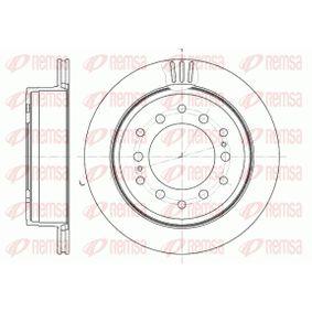 Disque de frein Épaisseur du disque de frein: 18mm, Nbre de trous: 6, Ø: 312mm avec OEM numéro 42431 60 200