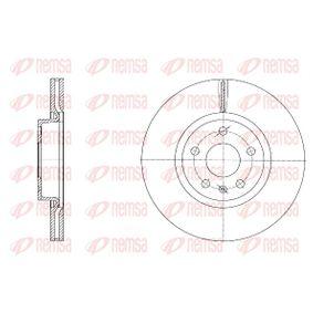 REMSA  6972.10 Bremsscheibe Bremsscheibendicke: 25mm, Lochanzahl: 5, Ø: 312mm