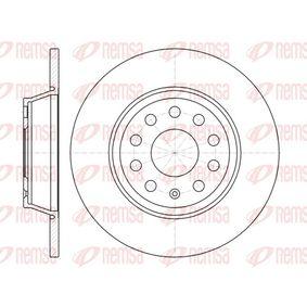 Bremsscheibe Bremsscheibendicke: 12mm, Lochanzahl: 9, Ø: 285,8mm mit OEM-Nummer 1K0 615 601 M