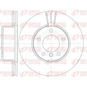Bremsscheibe Bremsscheibendicke: 24mm, Lochanzahl: 5, Ø: 300mm mit OEM-Nummer 3411 6854 998