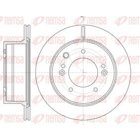 Bremsscheibe Bremsscheibendicke: 20mm, Lochanzahl: 5, Ø: 314,9mm mit OEM-Nummer 5 841 13 E300