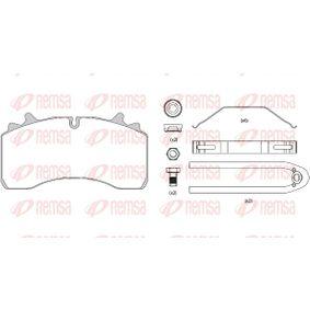 Bremsbelagsatz, Scheibenbremse Höhe: 109,6mm, Dicke/Stärke: 31mm mit OEM-Nummer 107 580
