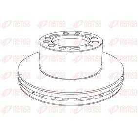 Bremsscheibe Bremsscheibendicke: 45mm, Lochanzahl: 12, Ø: 377mm, Ø: 377mm mit OEM-Nummer 1109.20