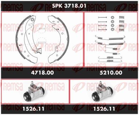 REMSA  SPK 3718.01 Bremsensatz, Trommelbremse