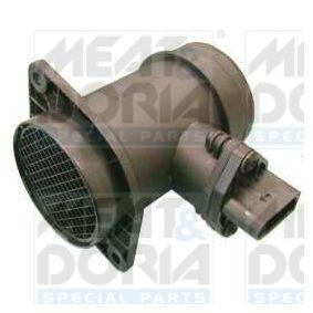 MEAT & DORIA Luftmassenmesser 86010 für AUDI A4 (8D2, B5) 1.9 TDI ab Baujahr 03.2000, 116 PS