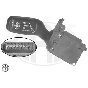 Steering Column Switch Number of connectors: 7, with cruise control with OEM Number 4E0953521