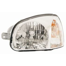 Headlight for vehicles without headlamp levelling, for right-hand traffic with OEM Number 9210126025