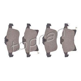 Bremsbelagsatz, Scheibenbremse Dicke/Stärke: 20,4mm mit OEM-Nummer 1605 996