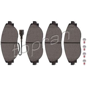 Brake Pad Set, disc brake Thickness 1: 20,0mm with OEM Number 7N0698151E