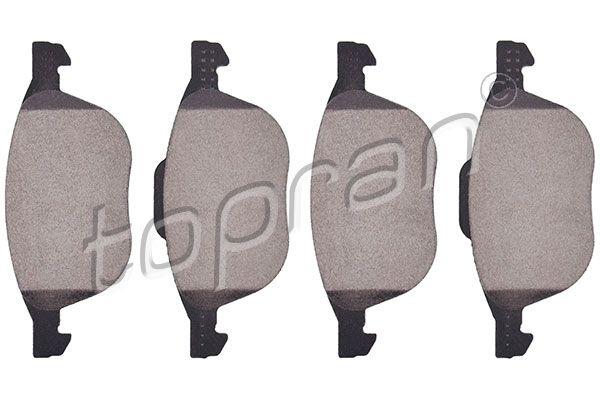 TOPRAN  302 338 Bremsbelagsatz, Scheibenbremse Dicke/Stärke 1: 18,2mm
