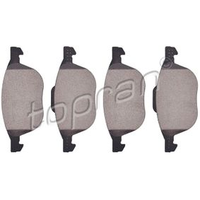 Bremsbelagsatz, Scheibenbremse Dicke/Stärke: 18,2mm mit OEM-Nummer 3M51-2K021-AB