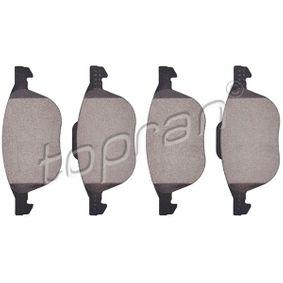 Bremsbelagsatz, Scheibenbremse Dicke/Stärke 1: 18,2mm mit OEM-Nummer 1 809 256